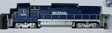 Atlas N #40000474 GE Dash 8-40B - Standard DC - Master(R) -- BC Rail #3906 (blue