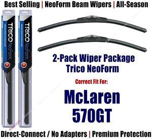 2pk Super-Premium NeoForm Wipers fits 2019 Mclaren 570GT 162612x2