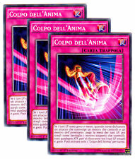 Set 3X COLPO DELL' ANIMA Soul Strike SECE-IT099 Comune in Italiano YUGIOH