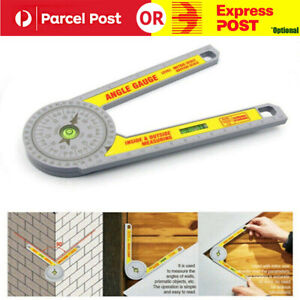 Angle Finder Goniometer Ruler Miter Drawing Measuring Level Tools Saw Protractor