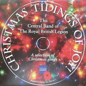 CHRISTMAS TIDINGS OF JOY MUSIC CD CENTRAL BAND OF THE BRITISH LEGION