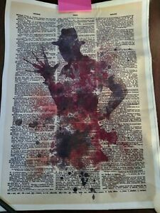 Freddy Krueger Canvas Picture
