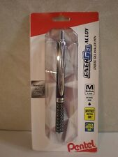 Pentel EnerGel Alloy RT Black .7mm Gel Pen - NEW