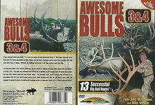 Elk Hunting Awesome Bulls 3 & 4 Bow and Rifle 2 Films on 1 DVD NEW