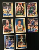 8 Card Dallas Mavericks Autographed Card Lot Fat Lever Sean Rooks + More