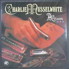 Charlie Musselwhite - Ace Of Harps - Mint- Electric Blues LP Alligator Records