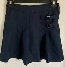 French Toast Skort Child's Sz 8 Navy Blue Pleated School Uniform