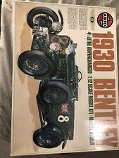 Vintage Airfix 1930 Bentley 1/12 Scale 4 1/2 Litre Supercharged
