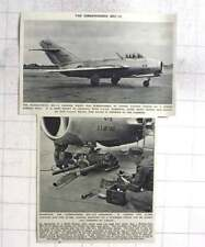 1953 Russian Built Mig 15 Fighter Surrendered To Un Forces