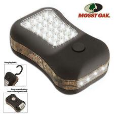 MOSSY OAK Camouflage 28-LED Utility Worklight Rare Earth Magnet & Hook