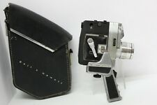 Vintage Bell & Howell Autoload Animation Zoom Reflex 8mm Film Camera With Case