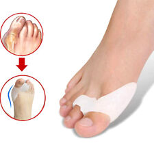 2x Gel Bunion Protector Corrector Toe Straightener Alignment Separator Spreader