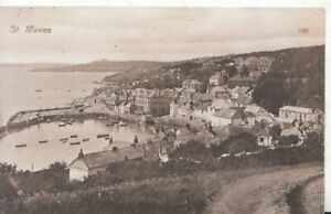 Cornwall Postcard - View of St Mawes -  Ref TZ7467