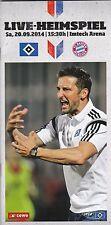 HSV-Arenamagazin Nr.2 zum Heimspiel gegen FC Bayern München 20.9.2014