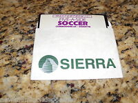 Five-A-Side Soccer (Commodore 64, 1985) C64 Game 5.25 Inch Floppy Disk