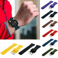 Soft Silicone Watch Band Replacement Band Strap For Samsung Galaxy Watch 46mm