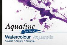 Daler Rowney Aquafine Watercolour A4 Texture Jumbo Pad 140lb 50 Sheets Not Paper