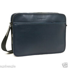 Coach Expandable Leather Flight Case F71539 Black Agsbeagle #COD Paypal