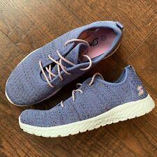 Girls Size 3 S Sport Skechers Purple LaceUp Lightweiht Sneakers Athletic Shoes