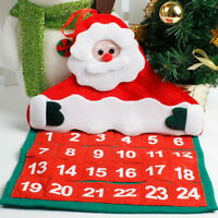 Christmas Decorations Santa Claus Calendar Hotel Lobby Family Pendant Hot Sale