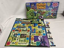 Vintage Swamp Thing Battle for the Bayou Board Game Rose Art Games Complete 1991