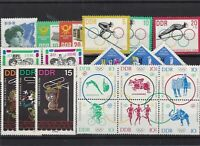 German Democratic Republic mint never hinged stamps Ref 13787