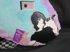 BIG CAMP ROCK GUITAR BAG SLEEPOVER PILLOW EMBROIDERED PURSE PLUSH MOVIES 25""