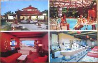 1960s San Francisco, CA Chrome Postcard: Bayside Motel Interior/Diner-California
