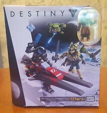 Destiny Mega Bloks 121 Pieces Sparrow S-31V Dpj08 Build Toys