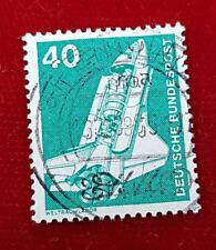 Briefmarke Deutsche Bundespost 40 Pfennig Weltraumlabor 1975 (1A3)