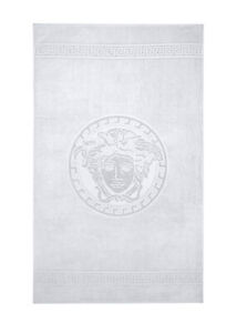 Versace Home Medusa Classic White Hand Towels - Set Of 2