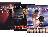 REVENGE - STAGIONI 1, 2, 3 (18 DVD) COFANETTI SINGOLI SERIE TV