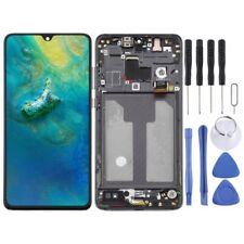 For Huawei Mate 20 LCD Screen Touch Digitizer Assembly With Frame BLACK