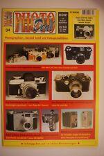PHOTO Deal Photo Deal fascicolo 34 3/2001 Carl Zeiss Jena, Kodak Super 8, CONTAX, Kiev