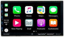 DUAL XDCPA9BT Mechless CarPlay Android Auto Media Receiver