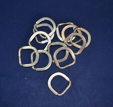 "D-Ring - Stainless Steel - 1"" - Flattened Ends - 12 pack (B68)"