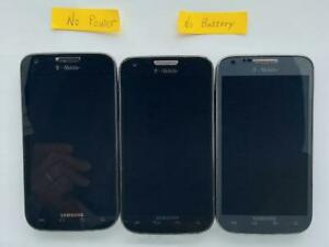 Samsung Galaxy S II SGH-T989 Smartphone as is parts lot of 3 #1