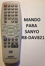 MANDO PARA SANYO R8-DAV821 DVD ORIGINAL