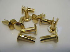 Split Cymbal Rivets, for ride Zildjian Paiste. Pack of 10.