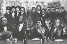 New listing Gangsters - Godfather Goodfellas Sopranos Scarface Poster, size 24x36