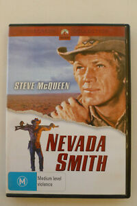 Nevada Smith Rare Region 4 DVD - Steve Mcqueen Western Movie - Free Post