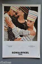 R&L Ex-Mag Advert: Sonia Rykie Paris, Dominique Issermann Harvey, Nichols Browns