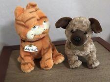 Garfield And Odie Ty Plush