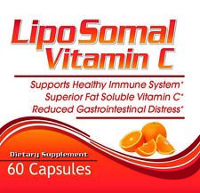 Liposomal Vitamin C Capsules High Absorption Immune Pills Supplements