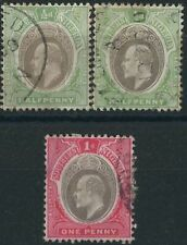 Royalty Edward VII (1902-1910) Nigerian Stamps (Pre-1960)