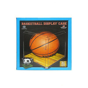 Basketball -  Clear Acrylic Display Case w/ beveled edges Full Size - USA MADE