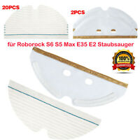 Mopptuch Wischpads Plattenpads für Roborock S6 S5 Max E35 E2 Staubsauger Zubehör