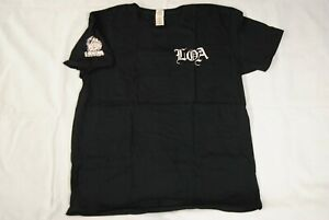 LIFE OF AGONY LOGO 20 YEARS STRONG T SHIRT NEW OFFICIAL RIVER RUNS RED UGLY RARE