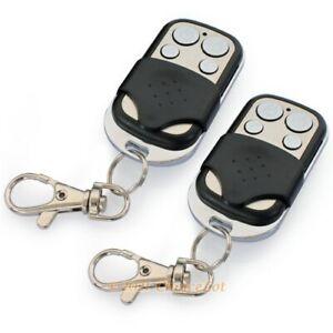 433MHz Fernbedienung Schlüssel Für Unsere 433MHz Alarmanlagen Schwarz&Silber