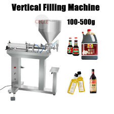 100-500g Vertical Filling Machine for Liquid or Fluid Viscous Paste Fully By Sea
